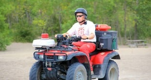 ATV Safety Demos Enlighten Students