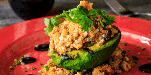 stuffed avocado recipe